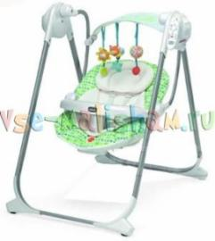 Качели Качели Chicco Polly Swing Up Birdland 79110.34